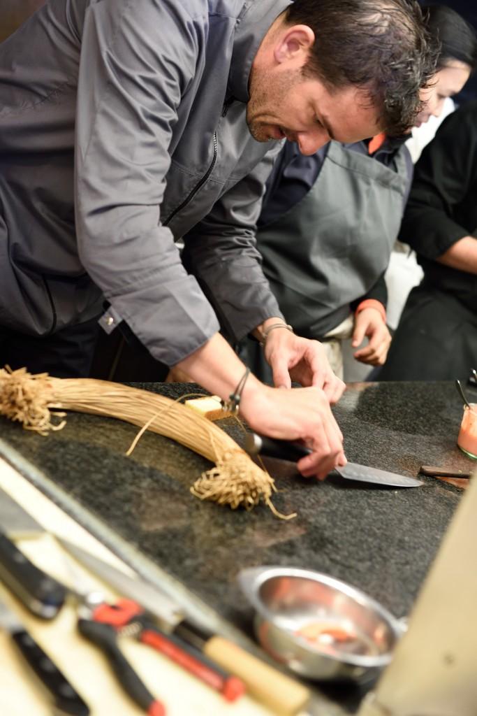 Cours de cuisine avec le chef toil laurent peugeot - Cours de cuisine chef etoile ...
